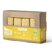 NZERO Eco Wax Warm Snow Yellow 0/-6 50g x4 pack